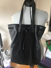 Next Leather & Suede Tote Handbag