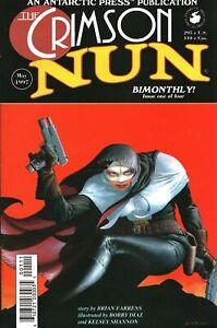 Antarctic Press The Crimson Nun High Grade Comic Book Issue #1 (1997)