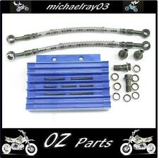 CNC Oil Cooler Kit Pit Bike Mini Bike 140cc 150cc 160cc ATV  QUAD