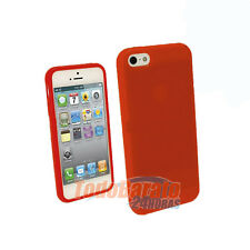 Funda tpu gel para IPHONE 5 5G naranja