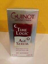 Guinot Time Logic Age Serum 25ml(0.84oz) Fresh New * Sale