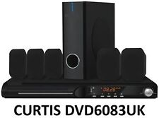 Curtis 5.1 DVD HOME CINEMA THEATRE 450W HI FI SURROUND SOUND SYSTEM * B + graffi * *