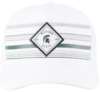 Michigan State Spartans Hat Cap Snapback Trucker Mesh Adjustable Licensed NWT