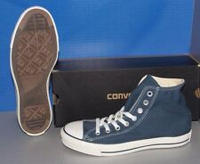 """CONVERSE """"CHUCK TAYLOR"""" CT A/S HI in colors NAVY / WHITE MENS 8 WOMENS 10"""