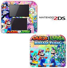 Vinyl Skin Decal Cover for Nintendo 2DS - Mario & Luigi Dream Team