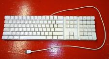 Apple Mac White USB Wired Keyboard A1048 for iMAC G3 G4 G5 eMAC