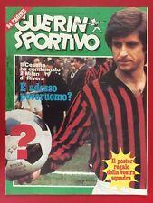 GUERIN SPORTIVO 1976/4 , MILAN GIANNI RIVERA MENNEA MONDIALE F1 AUTO , NO POSTER