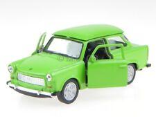 Trabant 601 light green GDR Ostalgie diecast modelcar 43654 Welly 1:34