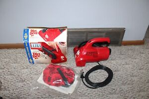 New With Box Vintage Royal Dirt Devil Ultra Hand Vacuum Cleaner Model 08230