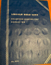 COMPLETE LINCOLN CENT COLLECTION IN WHITMAN ALBUM-88 COINS TOTAL 1941 - 1975