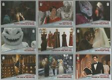 "Topps Doctor Who 2015 - ""Christmas Time"" Set of 10 Chase Cards #CT1-CT10"