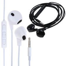 Ecouteurs Headset In-Ear Pour Samsung iPhone PC Earphones Jack 3.5 Blanc Casque