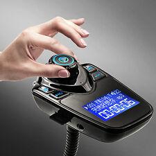 Car Kit Handsfree Bluetooth FM Transmitter MP3 Player USB LCD Modulator GRE17
