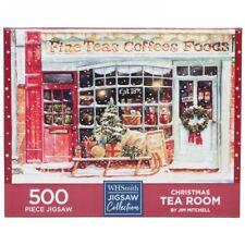 Whsmith Christmas Tea Room 500 Piece Jigsaw Puzzle 49 x 34.3 cm