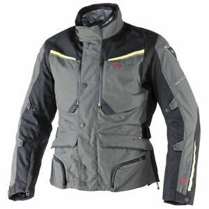 Dainese Sandstorm Gore-Tex Jacket Grey Black Yellow - All Sizes! - Fast Shipping
