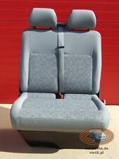 Seat VW T5 double bench passenger seat OX LHD front