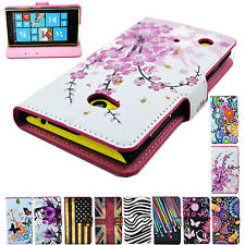 HOT Flip Holster Leather Skin Wallet Cover Case Stand Pouch For Various Phone