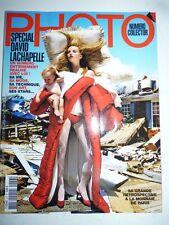 PHOTO FRENCH MAGAZINE #457 mars 2009 special David Lachapelle