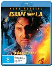 Escape From L.a. Los Angeles Blu-ray Region B