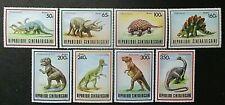 Central Aferican Republic 1988 Prehistoric Animals Set UM. SG 1291/8