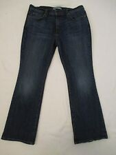 Womens Size 12 S/C Short Levis 515 Boot Cut Red Tab Blue Jeans Measure 31x29