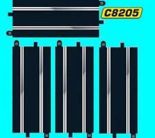 4x SCALEXTRIC C8205 SPORT TRACK STANDARD STRAIGHTS equals 8 C8207 Half (C8526)