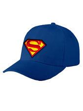H027 Logo de Superman Gorra Batman The Flash Wonder Woman Liga de la Justicia