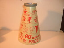 1960's NFL Go with the Pros Team Logos Megaphone #2