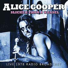 ALICE COOPER New Sealed 2019 UNRELEASED 1978 SCHOOL'S OUT TOUR LIVE CONCERT CD