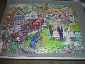 "1000 PEICE JIGSAW PUZZLE "" TWENTIES GREEN """