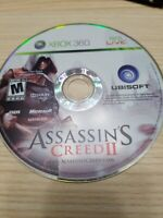 Assassin's Creed II 2 - Xbox 360 - Disc Only - Tested - Fast Free Ship!