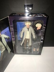 New Neca Back To The Future Ultimate Doc Brown Action Figure Toy