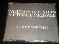 Whitney Houston & George Michael - If I Told You That - CD Single - 2000 Arista