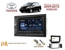 2004-2010 TOYOTA SIENNA DOUBLE DIN CAR STEREO KIT 6.2