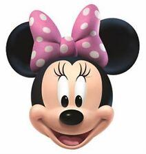 Minnie Mouse aka Princess Minnie Official Disney Fun CARD Single Party Face Mask