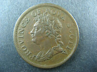 NS-2A2 One Penny token 1824 Canada Nova Scotia PNS-202 Breton 868