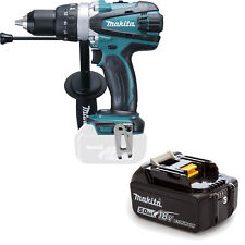 MAKITA 18V LXT DHP458 DHP458Z DHP458RFE COMBI DRILL AND BL1850 BATTERY