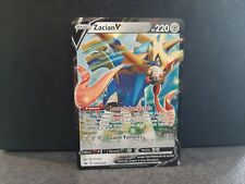 ZACIAN V SWSH018 EB2 Clash des Rebelles Carte Pokemon ultra rare épée bouclier