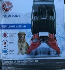 Hoover - FH50135 - Power Scrub Carpet Cleaner - Red
