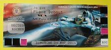 Formula 1 Monaco Grand Prix 2014 TICKET