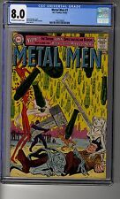 Metal Men(1963) # 1 - CGC 8.0 OW/White Pages - First Appearance Missile Men