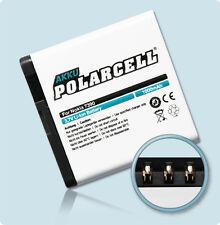 PolarCell Akku Nokia 7390 8600 Luna 6500 slide 6220 classic Accu Batterie Acku
