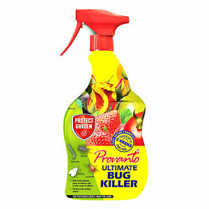 Protect Garden Provanto Ultimate Bug Killer Spray 1L Fast Acting Insecticide