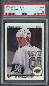 1990-91 Upper Deck Hockey WAYNE GRETZKY #54 Base PSA 9 MINT HOF GOAT