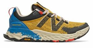 New Balance Men's Fresh Foam Hierro v5 Trail Shoes Yellow