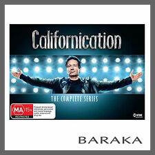 Californication Complete Collection Season 1, 2, 3, 4, 5, 6 & 7 DVD box set R4