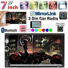 "7""2DIN Autoradio HD Car Radio Stereo Bluetooth Touch Screen MP5 Player FM USB TF"