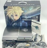 Sony PlayStation 3 Final Fantasy VII Advent Children Limited Edition Bundle Ps3