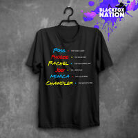Friends TV Show T-Shirt Unique Print Short Sleeve Tee Friends TV Quotes Gift Tee