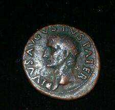 Divus Augustus Dupondius/Dupondie - PROVIDENT Tempel - 10,78g